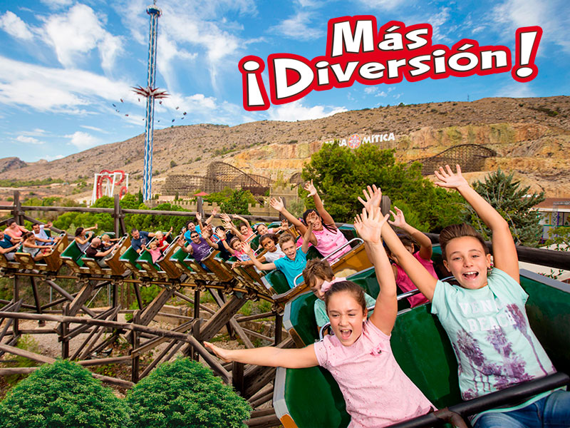 Special Offer Junior Free Season Pass 2019 Terra Mitica Plus
