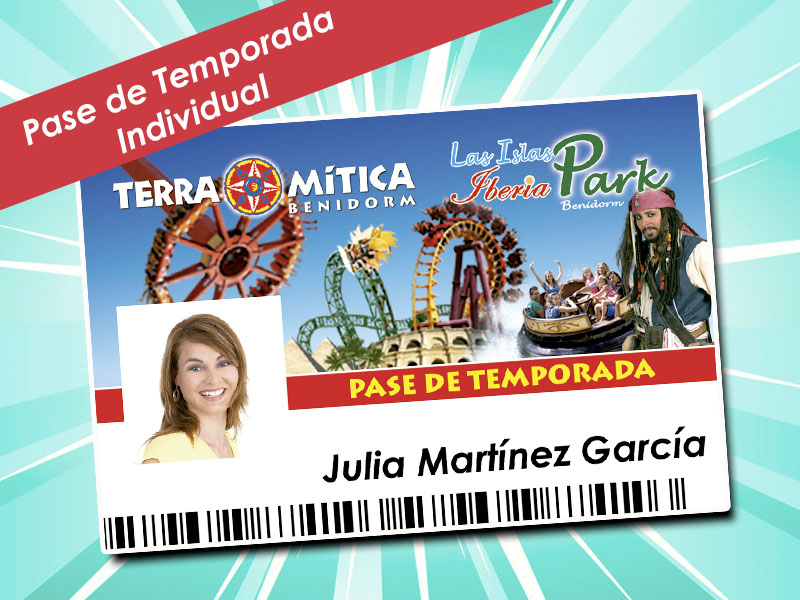 Season Pass 2018 Terra Mitica Plus